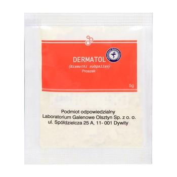 Dermatol, proszek, 5 g