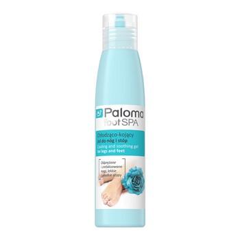 Paloma Foot Spa, chłodząco-kojący żel do nóg i stóp, 125 ml
