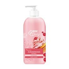 DOZ Daily, nawilżające mydło w płynie, Żurawinowa Mufinka, 500 ml
