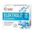 DOZ PRODUCT Elektrolit bezsmakowy, proszek w saszetkach, 10 x 4,5 g
