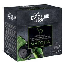Zielnik DOZ Herbata zielona ze skórką mandarynki i limonki, z liśćmi mięty i dodatkiem herbaty Matcha, 32 g
