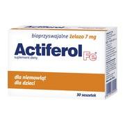 Actiferol Fe,  7 mg, proszek do rozpuszczania, saszetki, 30 szt.