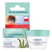 FlosLek Laboratorium Pielęgnacja Oczu, żel ze świetlikiem lekarskim i babką lancetowatą do powiek i pod oczy, 10 g