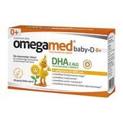 Omegamed Baby+D 0+, kapsułki twist-off, 30 szt.