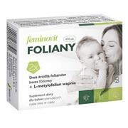 Feminovit Foliany, tabletki powlekane, 60 szt.