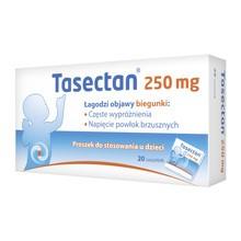 Tasectan, 250 mg, proszek, dla dzieci, 20 saszetek