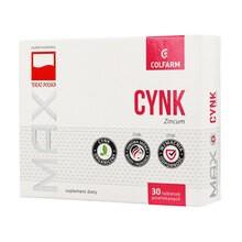 Max Cynk, 10 mg, tabletki, 30 szt. (Colfarm)