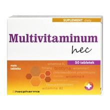 Multivitaminum hec, tabletki, 50 szt
