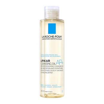 La Roche-Posay Lipikar Cleansing Oil AP+, olejek myjący uzupełniający poziom lipidów, przeciw podrażnieniom skóry, 200 ml