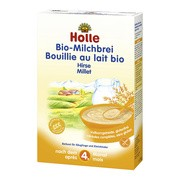 Holle Bio, kaszka mleczno-jaglana, 4 m+, 250 g