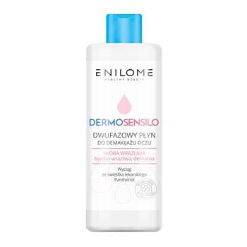 Enilome Healthy Beauty Dermosensilo, dwufazowy płyn do demakijażu oczu, 115 ml