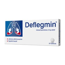 Deflegmin, 30 mg, tabletki, 20 szt.