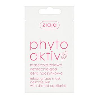 Ziaja Phytoaktiv, maseczka żelowa, wzmacniająca, cera naczynkowa, 7 ml