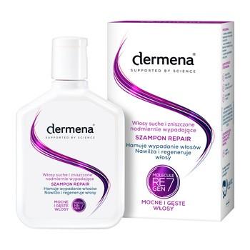 Dermena Hair Care, Repair, szampon do włosów suchych i zniszczonych, 200 ml