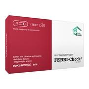 FERRI-Check, test na niedobór żelaza, 1 szt.