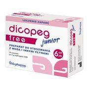 Dicopeg Junior Free, proszek dla dzieci od 6-miesiąca, saszetki, 30 szt.