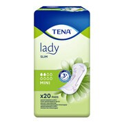TENA Lady Slim Mini, specjalistyczne podpaski, 20 szt.