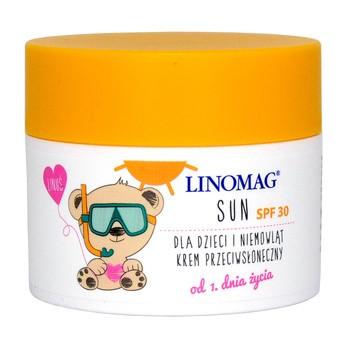 Linomag Sun, krem z filtrem mineralnym, SPF 30, 50 ml