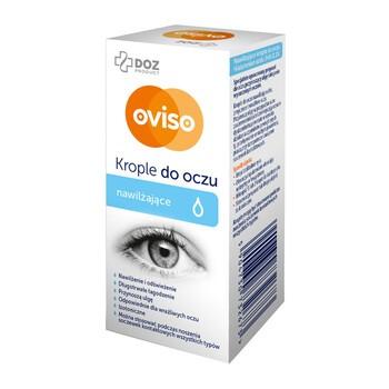 DOZ PRODUCT Oviso, krople do oczu, nawilżające, 10 ml