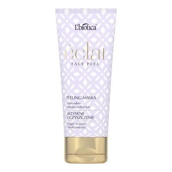L`Biotica Eclat Face Peel, peeling-maska, aktywne oczyszczanie, 50 ml