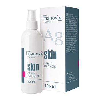 Nanovix Silver Skin, spray, na skórę, 125 ml