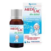 MediproLac dla dzieci, krople, 5 ml