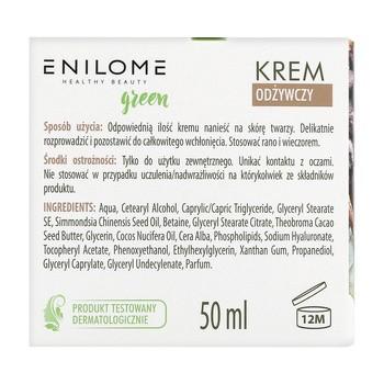 Enilome Healthy Beauty Green, krem odżywczy, 50 ml