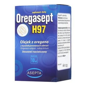 Oregasept H97, olejek z oregano, 10 ml