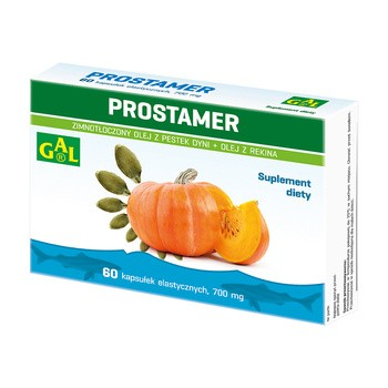 Prostamer, 700 mg, kapsułki elastyczne, 60 szt