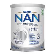 Nestle Nan Optipro Plus 3 HM-O, mleko modyfikowane Junior dla dzieci po 1 roku, 800 g