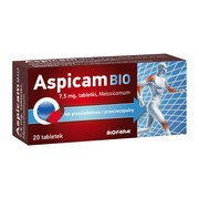 Aspicam Bio, 7,5 mg, tabletki, 20 szt.