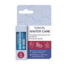 FlosLek Laboratorium Winter Care, pomadka ochronna do ust z filtrem UV, SPF 20, 1 szt.
