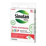 Sinulan Forte, plaster aromatyczny, Junior, 5 szt.