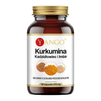 Kurkumina Kadzidłowiec i imbir, kapsułki, 90 szt. (Yango)