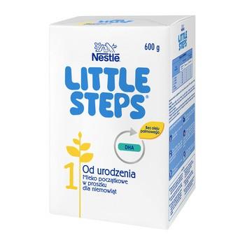Nestle Little Steps 1, mleko początkowe dla niemowląt od urodzenia 600 g