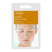 Ziaja, maska anty-stres z glinką żółtą, 7 ml (saszetka)
