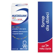 Mucosolvan Mini, 15 mg/5 ml, syrop, 100 ml