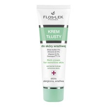 FlosLek Pharma, Seria Hypoalergiczna, krem tłusty do skóry wrażliwej, 50 ml