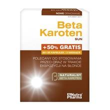 Beta Karoten Sun, kapsułki, 90 szt. (60 szt. + 30 szt.)