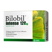 Bilobil Intense, 120 mg, kapsułki twarde, 60 szt.