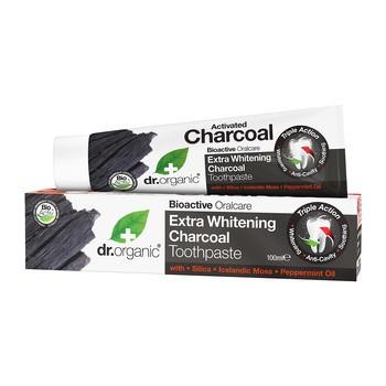 Dr. Organic Activated Charcoal, pasta do zębów z aktywnym węglem, 100 ml