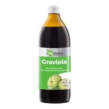 Graviola, sok z owoców gravioli, 500 ml (EkaMedica)