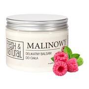 Fresh&Natural, malinowy, delikatny balsam do ciała, 500 ml