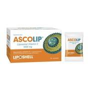 Ascolip Liposomalna Witamina C 1000 mg, 5 g, saszetki, 30 szt.