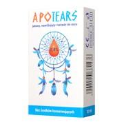 ApoTears, jałowy, nawilżający roztwór do oczu, 0,4%, 10 ml