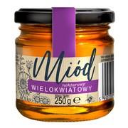 Miód wielokwiatowy, nektarowy, Huzar, 250 g