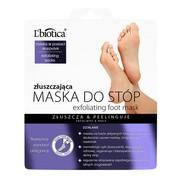 L`Biotica Maska Do Stóp, złuszczająca, 40 ml (nasączone skarpetki)