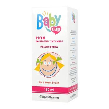 BabyCap, płyn do higieny intymnej dla dziewczynki, 150 ml