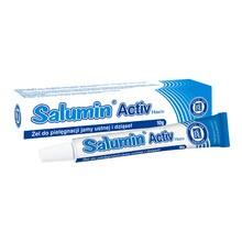 Salumin Activ Hasco, żel przeznaczony do pielęgnacji błony śluzowej jamy ustnej, 10 g