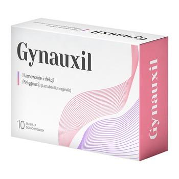 Gynauxil, globulki dopochwowe, 10 szt.